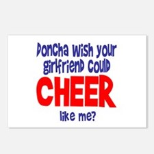 """CheerChick """"Doncha"""" Postcards (Package of 8)"""