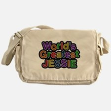 Worlds Greatest Jessie Messenger Bag