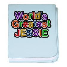 Worlds Greatest Jessie baby blanket