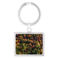 A Slice of Fall Landscape Keychain