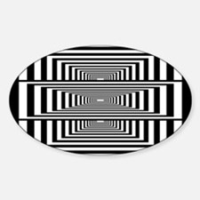 Optical Illusion Rectangles Decal