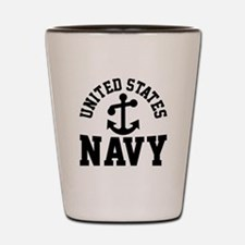 U.S. NAVY --- Shot Glass