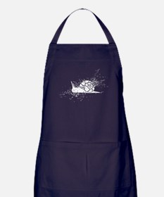 Cute Bugs and insects Apron (dark)
