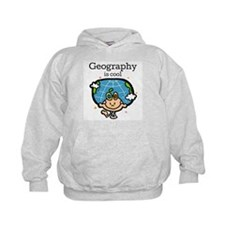 Geography is Cool Hoodie