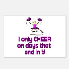 """CheerChick """"Days"""" Postcards (Package of 8)"""