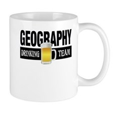 Geography Drinking Team Small Mugs