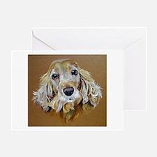 English Cocker Spaniel Dog Greeting Card