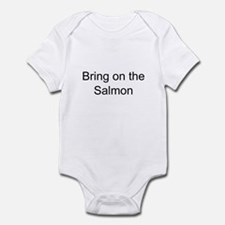 Bring on the Salmon Infant Bodysuit