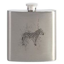 Cute Racing stripes Flask
