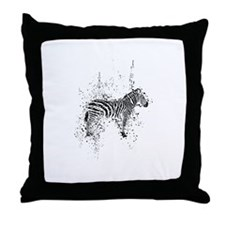 Cute Spotted saddle horse Throw Pillow