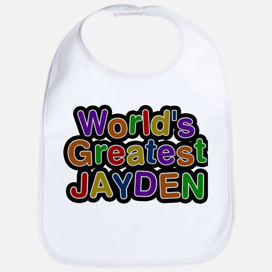 Worlds Greatest Jayden Bib