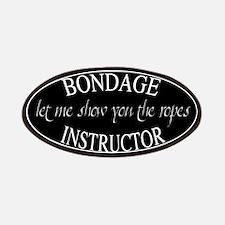 Bondage Instructor Patches