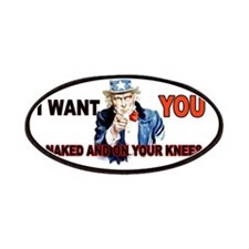 Uncle Sam Square Patches