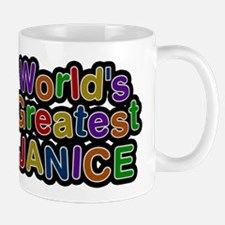 Worlds Greatest Janice Mug