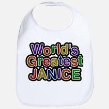 Worlds Greatest Janice Bib