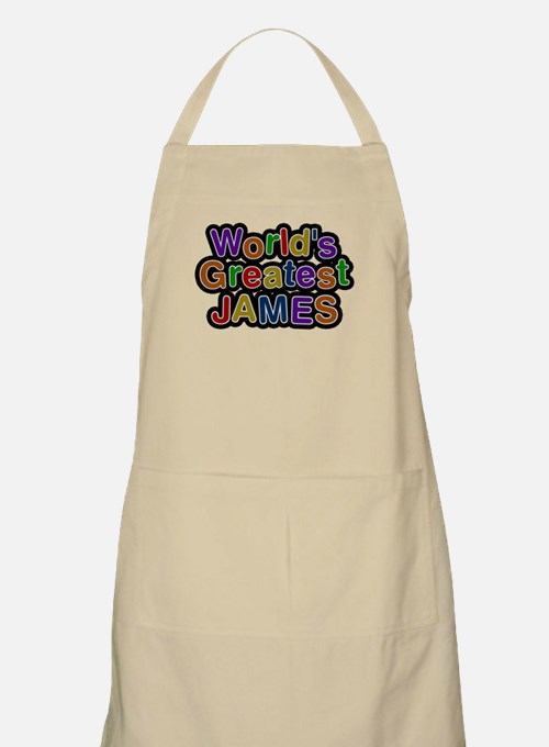 Worlds Greatest James Apron