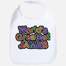 Worlds Greatest James Bib