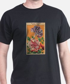Vintage French Flowers Seed Pack T-Shirt