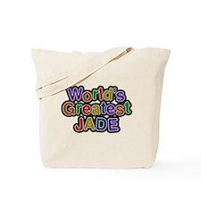 Worlds Greatest Jade Tote Bag