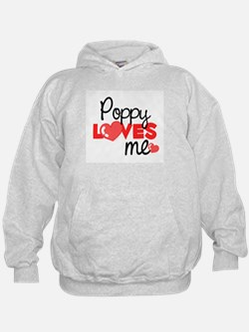 Poppy Love Me (red) Hoodie
