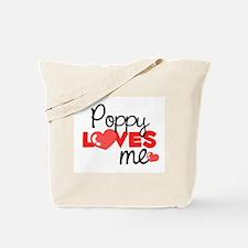 Poppy Love Me (red) Tote Bag
