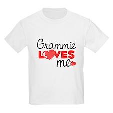 Grammie Love Me (red) Kids T-Shirt