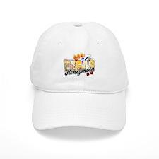 Vegas Wedding Honeymoon Baseball Cap