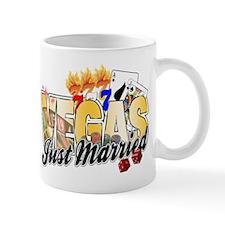 Vegas Just Married Mug