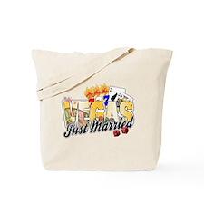 Vegas Just Married Tote Bag