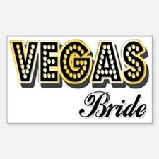 Vegas Bride Decal