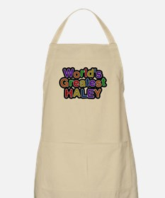 Worlds Greatest Haley Apron