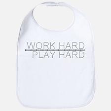 Work Hard/Play Hard Bib