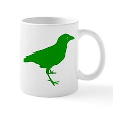 Green Raven Small Mug