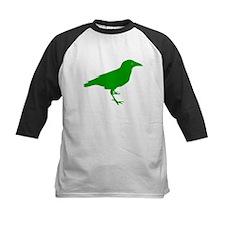 Green Raven Baseball Jersey