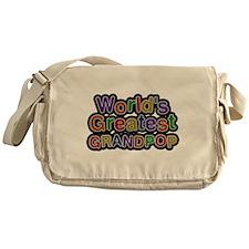 Worlds Greatest Grandpop Messenger Bag