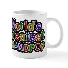 Worlds Greatest Grandpop Small Mug