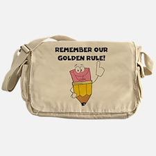 Golden Rule Messenger Bag