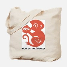 Year Of The Monkey Papercut Tote Bag