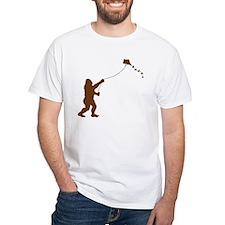 Bigfoot Stole My Kite 2-sided T-Shirt