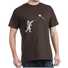 Bigfoot Stole My Kite 1-Sided T-Shirt