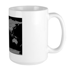 World Relief Map Mug