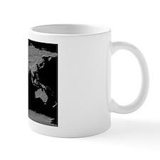World Relief Map Small Mug