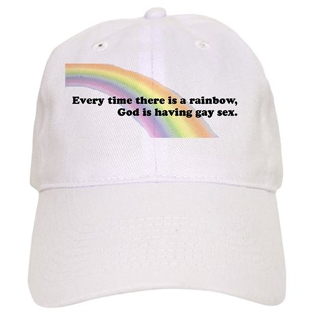 Every time there is a rainbow Cap
