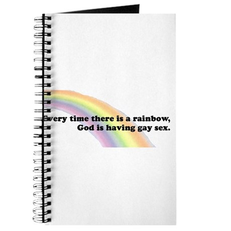 Every time there is a rainbow Journal