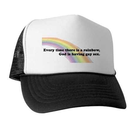 Every time there is a rainbow Trucker Hat