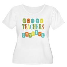 Great Teachers Inspire T-Shirt