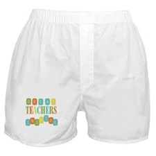 Great Teachers Inspire Boxer Shorts