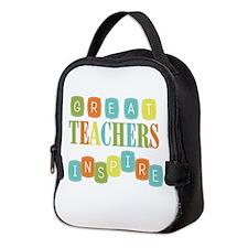 Great Teachers Inspire Neoprene Lunch Bag