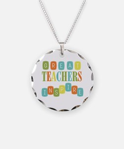 Great Teachers Inspire Necklace