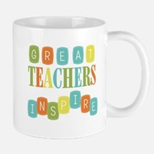 Great Teachers Inspire Small Small Mug